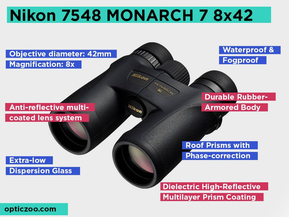 Nikon 7548 MONARCH 78x42 Review, Pros and Cons.