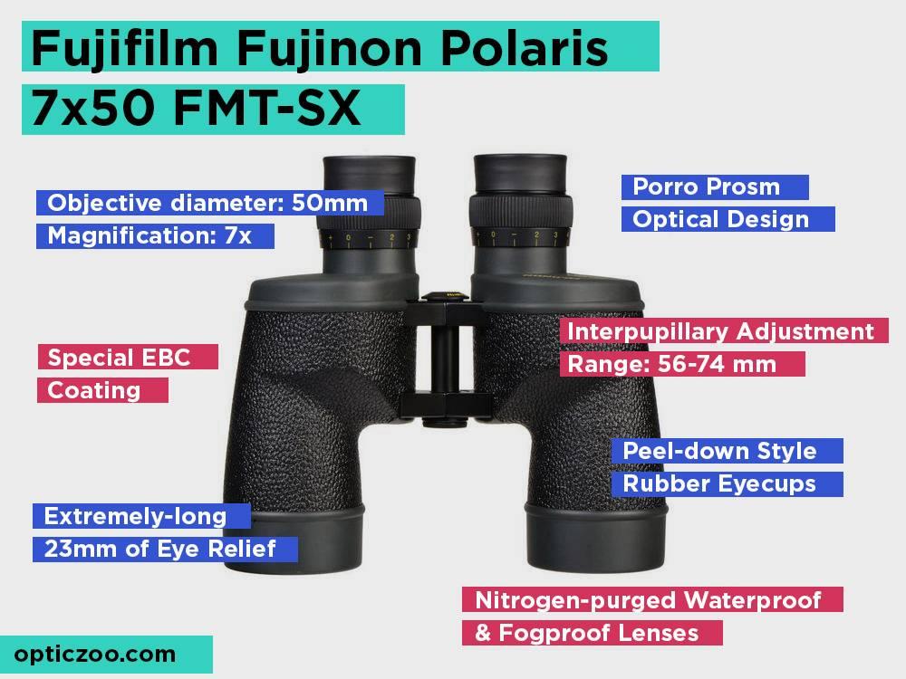 Fujifilm Fujinon Polaris 7x50 FMT-SX Review, Pros and Cons. Check our Top Pick 2018