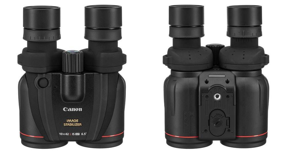 Canon 10x42 L IS WP is a full water-proof construction