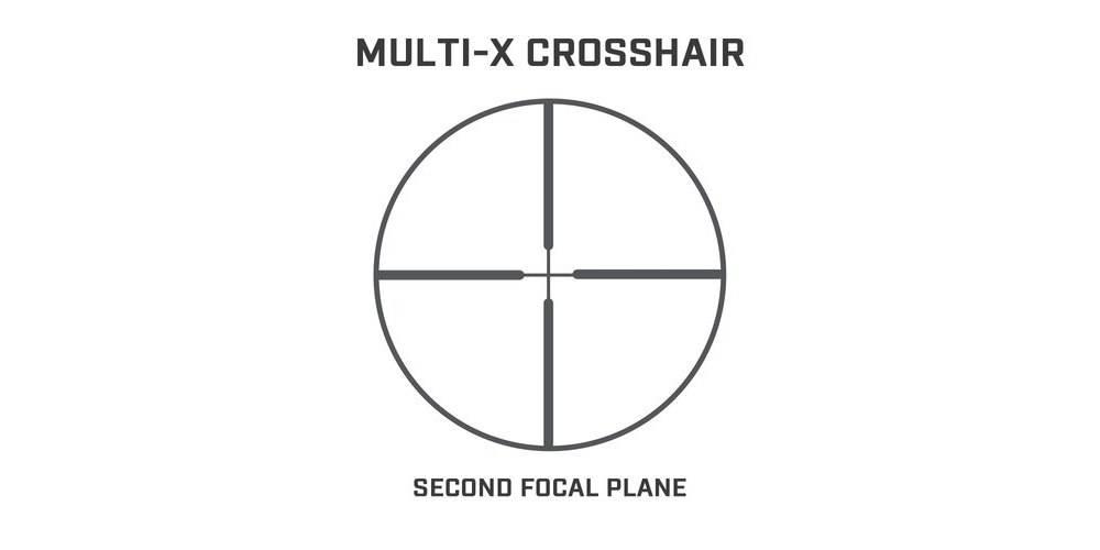 Bushnell Banner Riflescope 3 9x40 has multi-x reticle