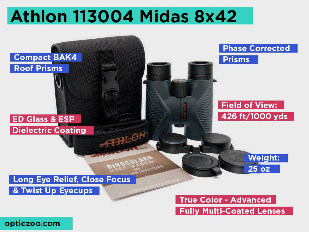 Athlon 113004 Midas 8x42 Review, Pros and Cons