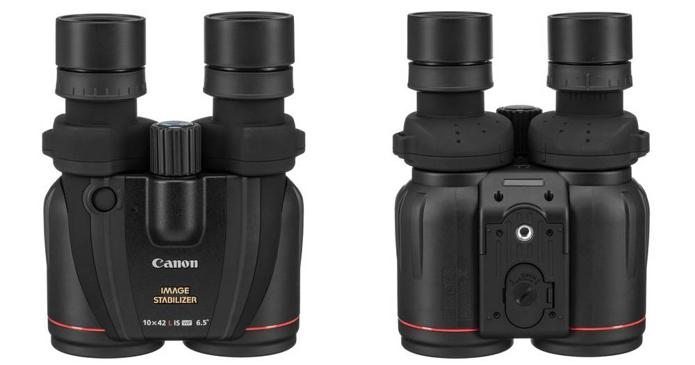 Canon 0155B002 10x42 L has a solid armoring that allows for an easy, non-slip grip