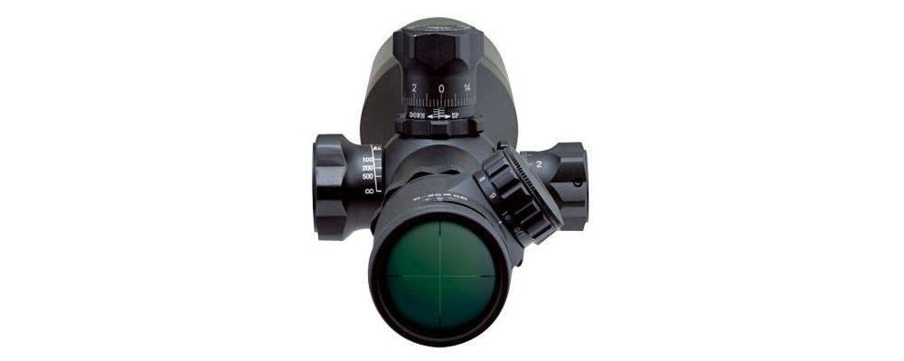 Millett BK81006 6-25x56 LRS-1 has a range focus control knob