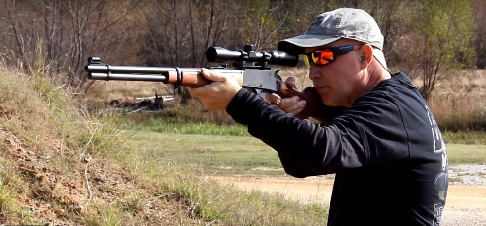The Marlin 336 rifle is ideal for hunting