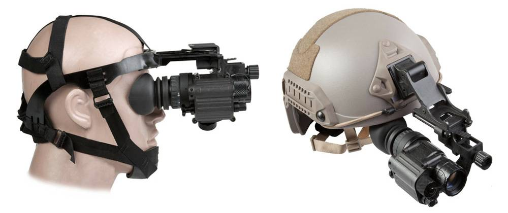 AGM Global Vision PVS-14 3NL1 head or helmet-mountable for hands-free usage