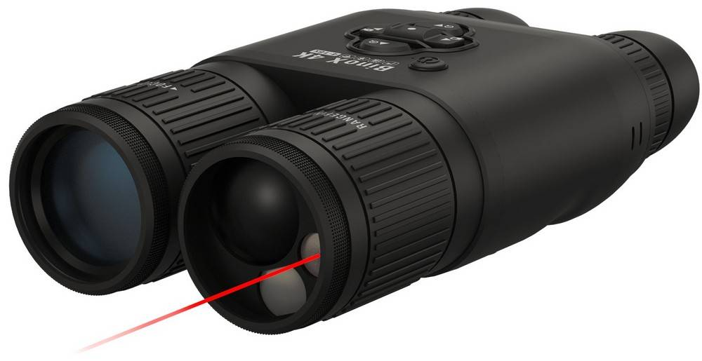 ATN DGBNBN4KLRF Binox 4K has an integrated laser rangefinder