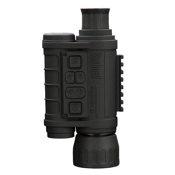 Bushnell 260140 Equinox Z 4.5x40 monocular has a rubber coating