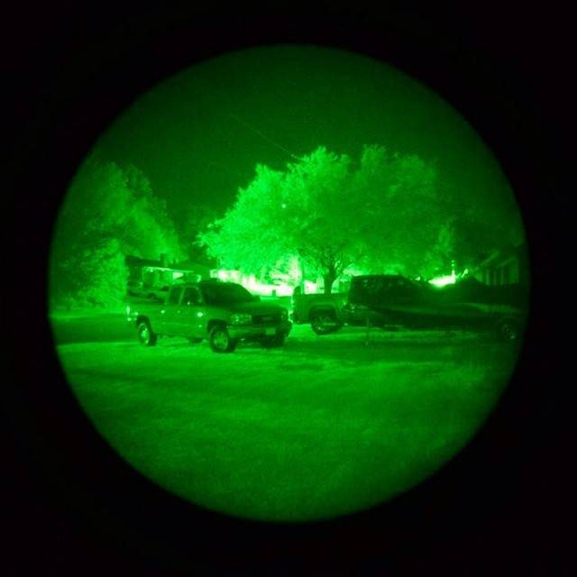 Generation 2 night vision monos