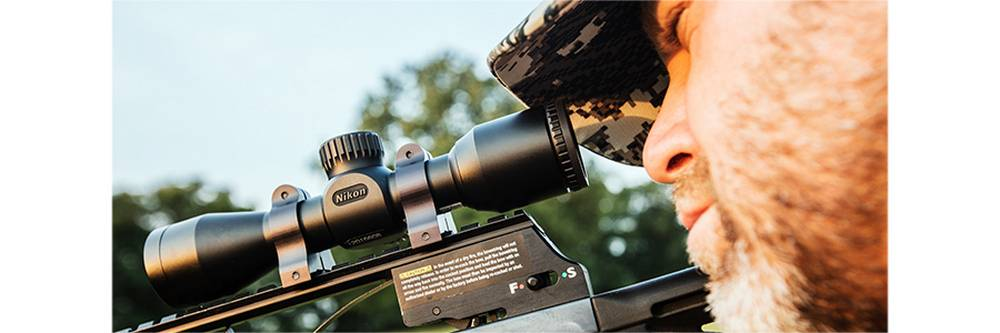 NIKW9 16608 Prostaff P3 3x32 has excellent eye relief