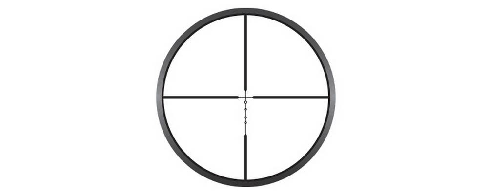 NIKW9 16608 Prostaff P3 3x32 uses BDC reticles designed by Nikon