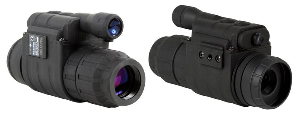 Sightmark SM14071 Ghost Hunter 2x24 monos has a solid body with a rubber coating