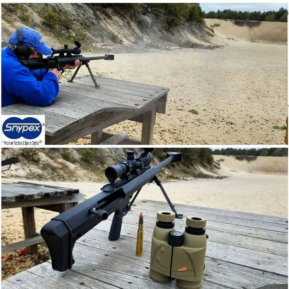 Snypex 9842-LRF1800 New Knight binos are ideal for target shooting