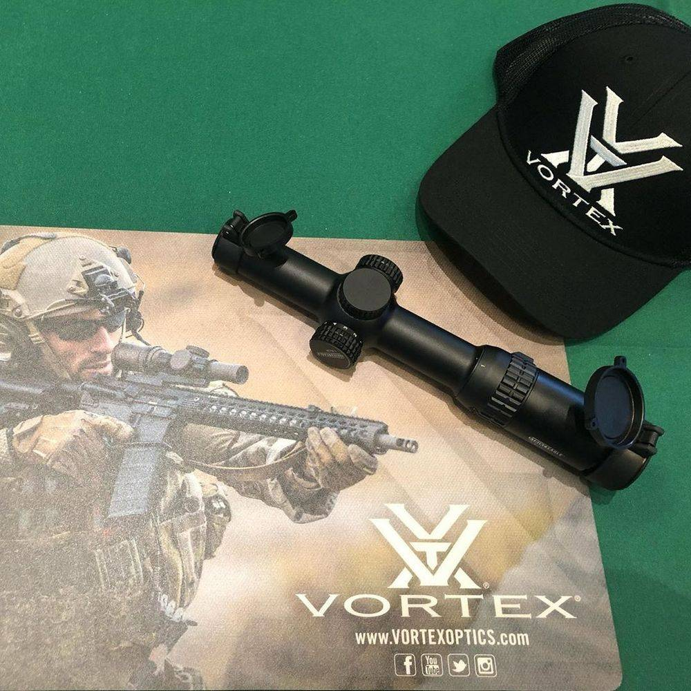 Vortex Optics SE-1624-1 Strike Eagle 1-6x24 scope