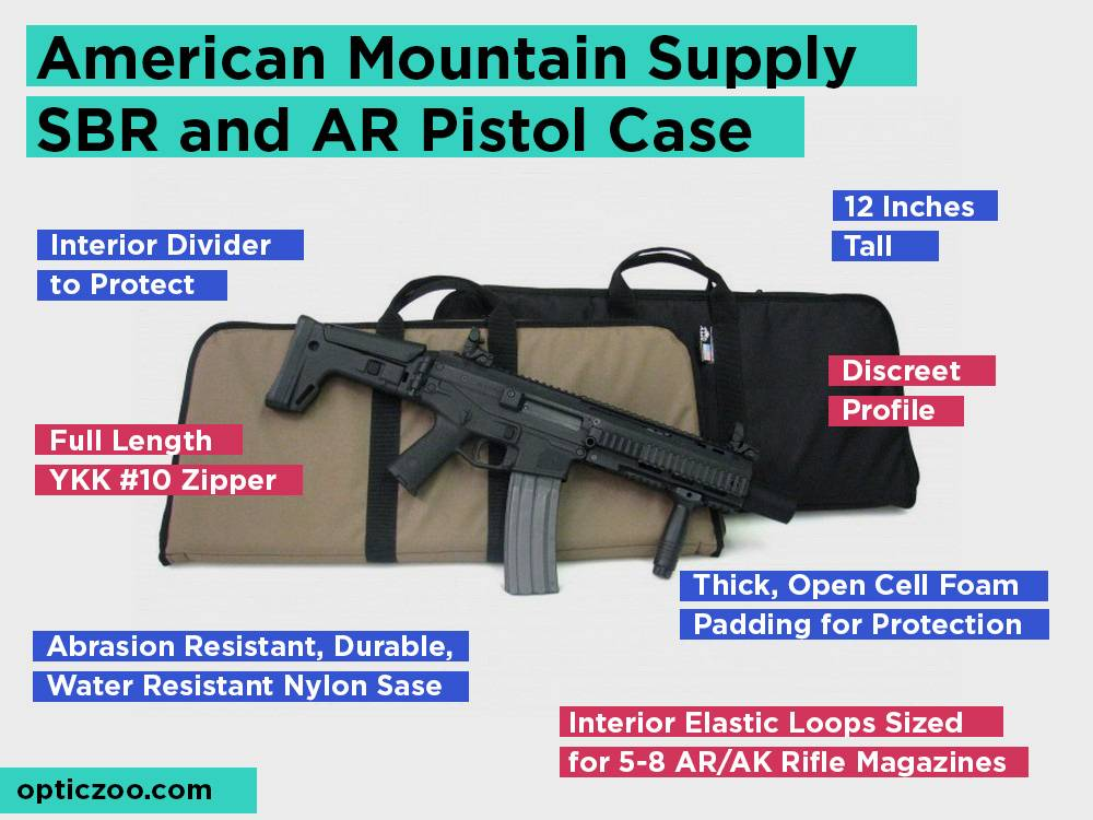 American Mountain Supply SBR and AR Pistol Case Review, Pros and Cons