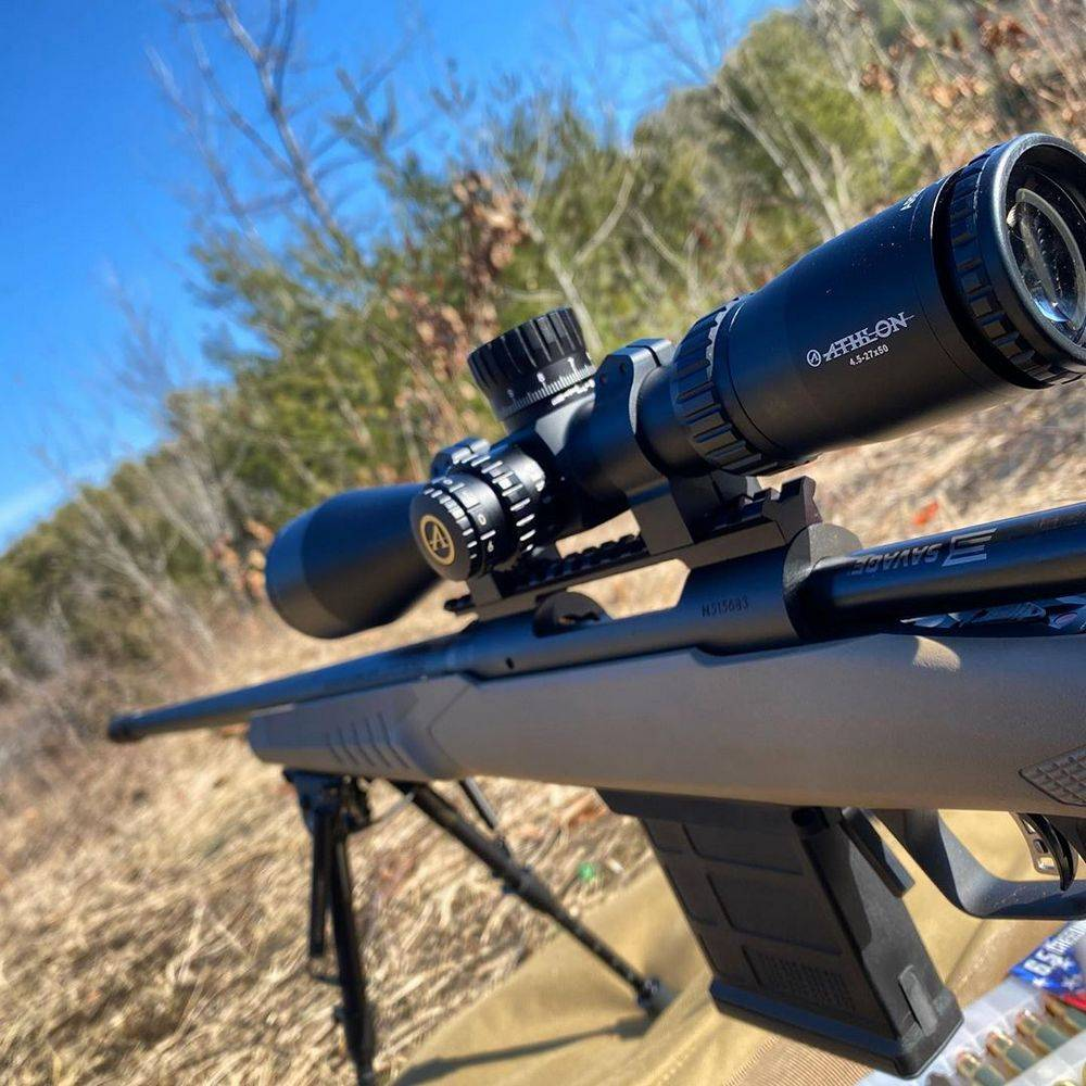 Athlon Optics 212008 Ares BTR 4.5-27x50