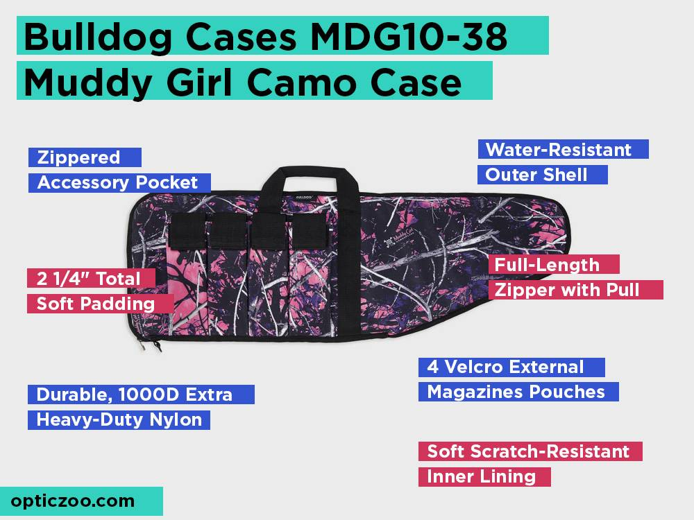 Bulldog Cases MDG10-38 Muddy Girl Camo Case Review, Pros and Cons
