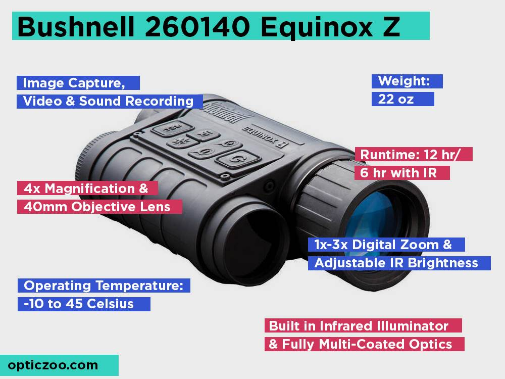 Bushnell 260140 Equinox Z 4.5x40 Review, Pros and Cons