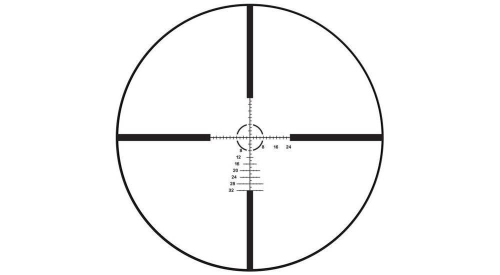 Bushnell E45184M Elite Tactical LRHS 4.5-18x44 riflescope has the G2M MOA reticle