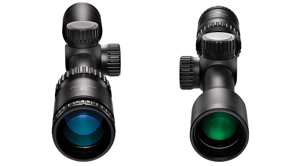 Nikon 16596 Prostaff P3 2-7x32 uses multicoated lenses