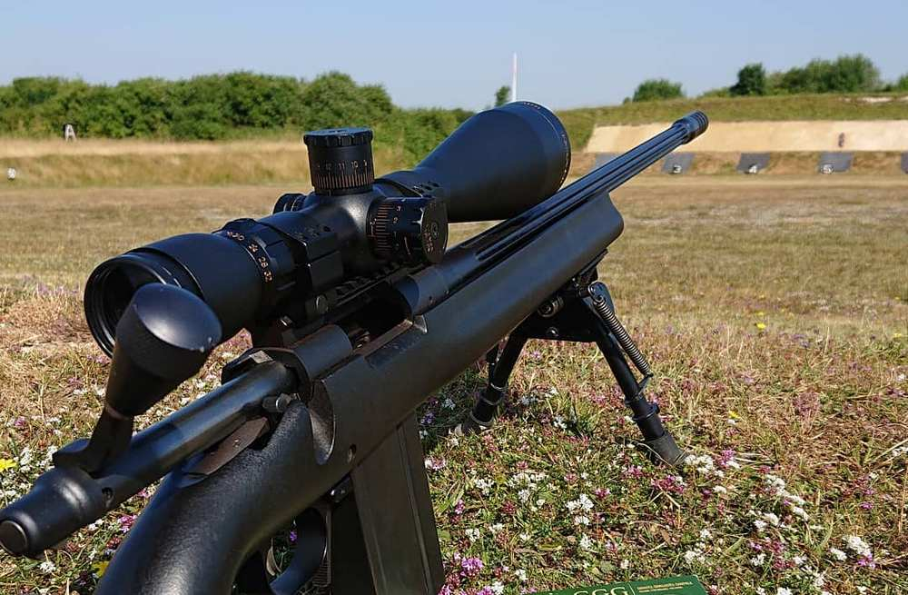 Riflescopes have a windage and elevation turrets