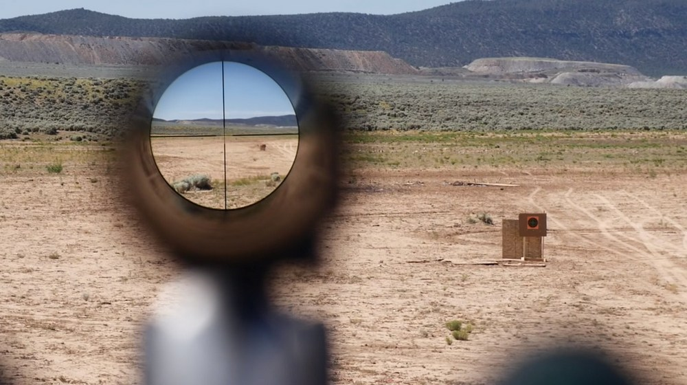 Riflescopes with large objective lenses tend to provide brighter, clearer and sharper images