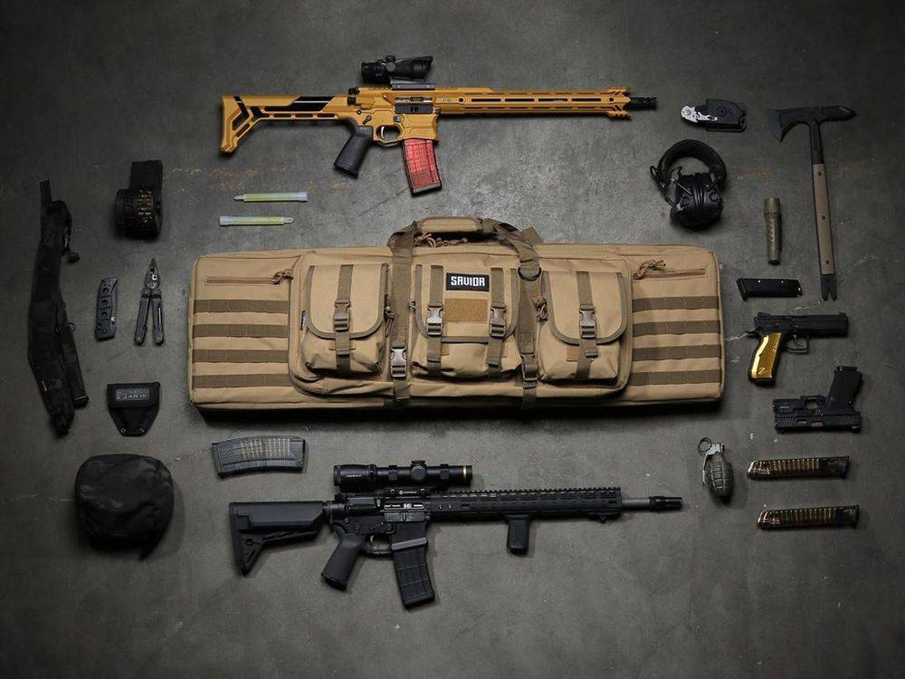 Savior Equipment American Classic Double AR-15 Soft Case