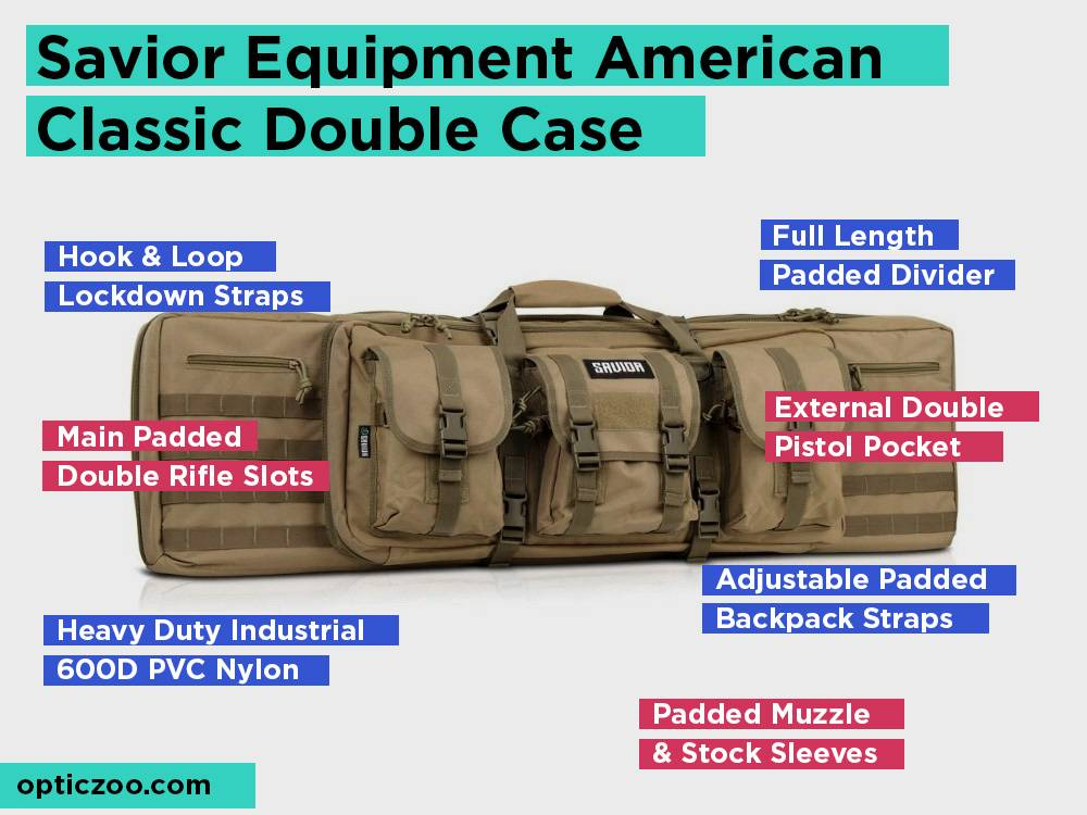 Savior Equipment American Classic Double Case Review, Pros and Cons