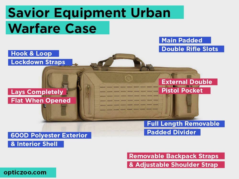 Savior Equipment Urban Warfare Case Review, Pros and Cons