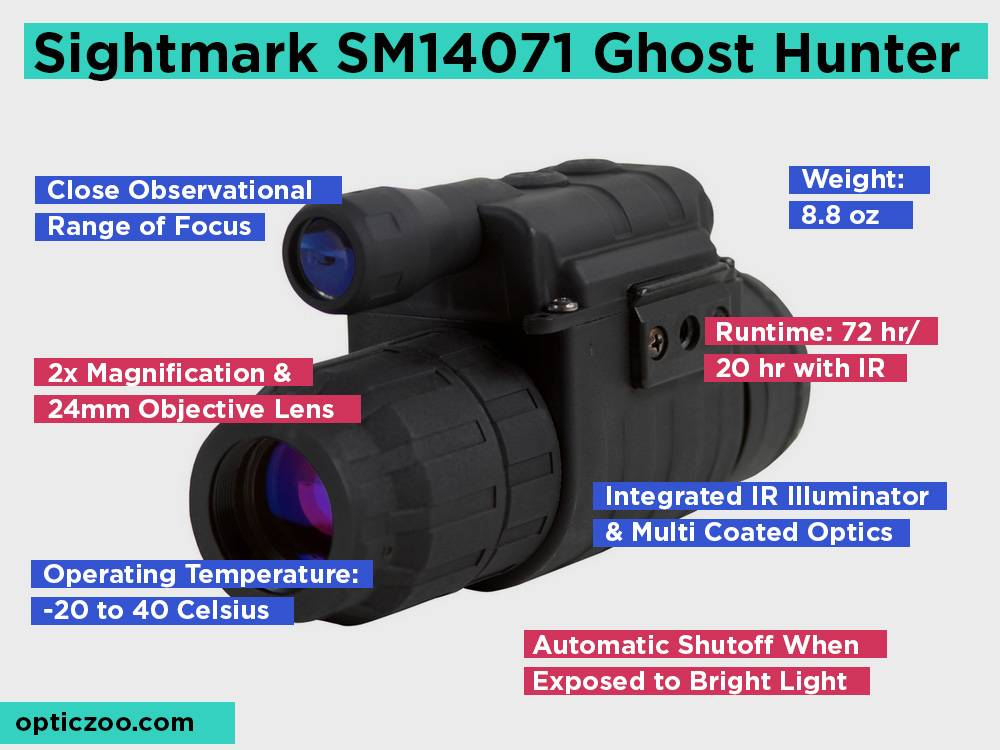 Sightmark SM14071 Ghost Hunter Review, Pros and Cons