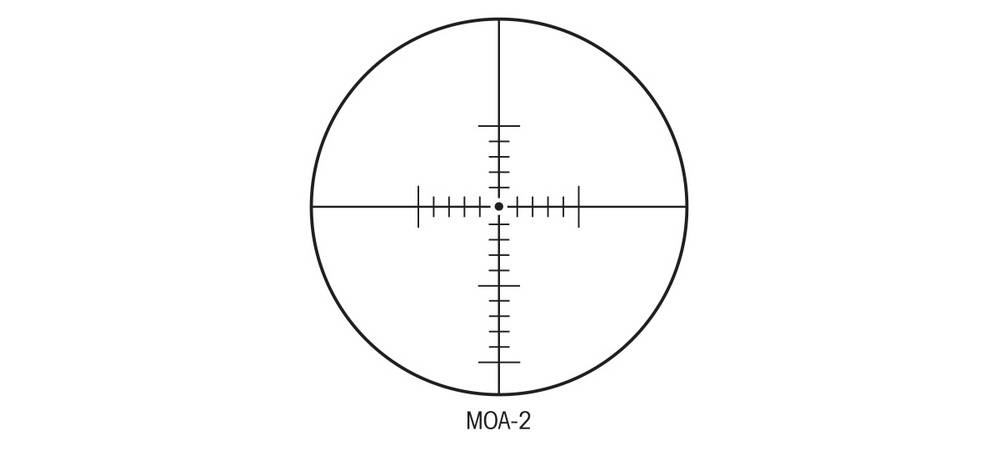 Sightron 25003 SIII 10-50x60 has MOA reticle