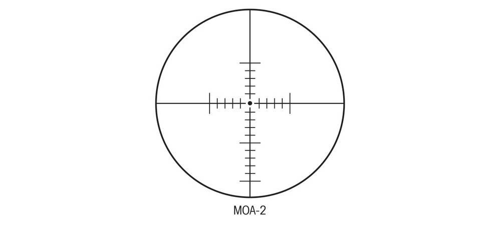 Sightron 25003 SIII 10-50x60 has MOA reticle