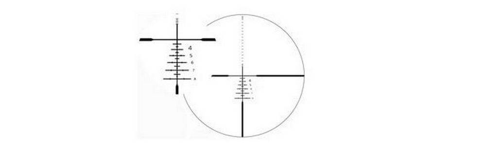Zeiss Carl Optical Conquest HD5 5-25x50 uses the Rapid-Z 800 ballistic reticle