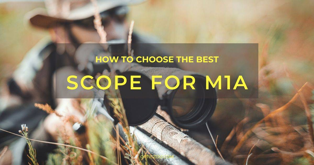 Best Scope for M1A - Buyer's Guide 1 | OpticZoo - Best Optics Reviews and Buyers Guides