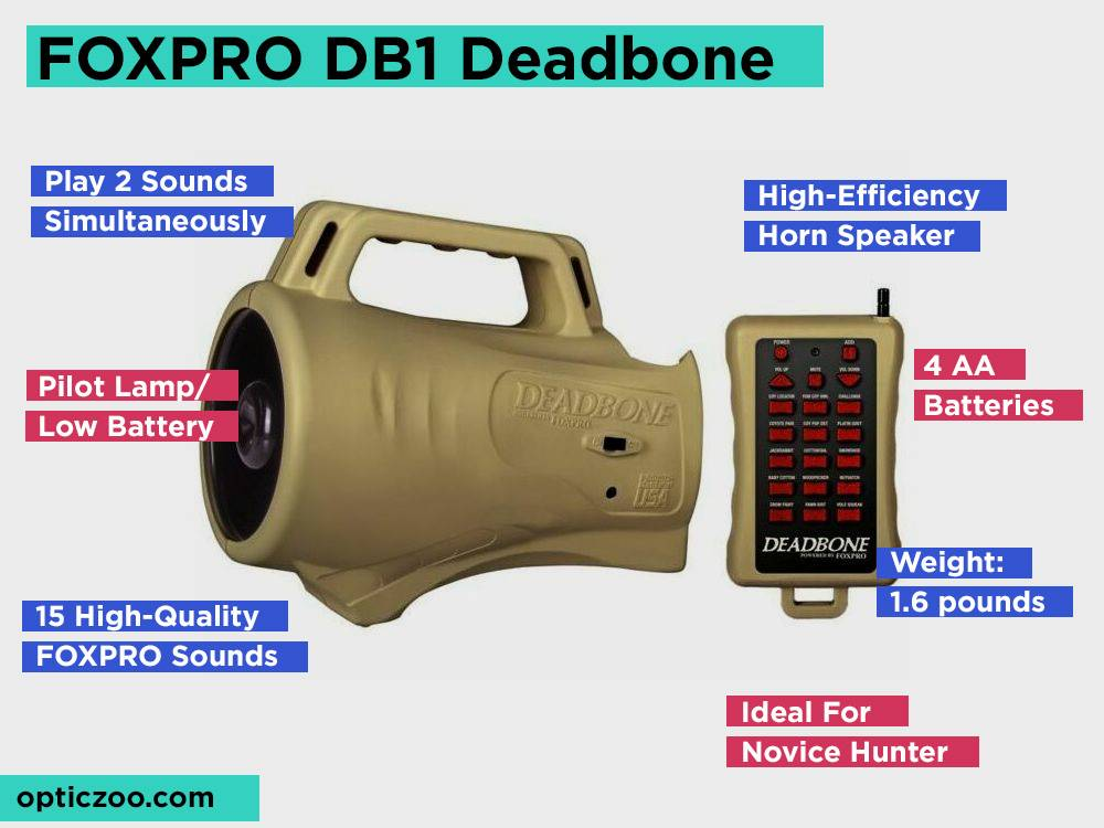 FOXPRO DB1 Deadbone Review, Pros and Cons