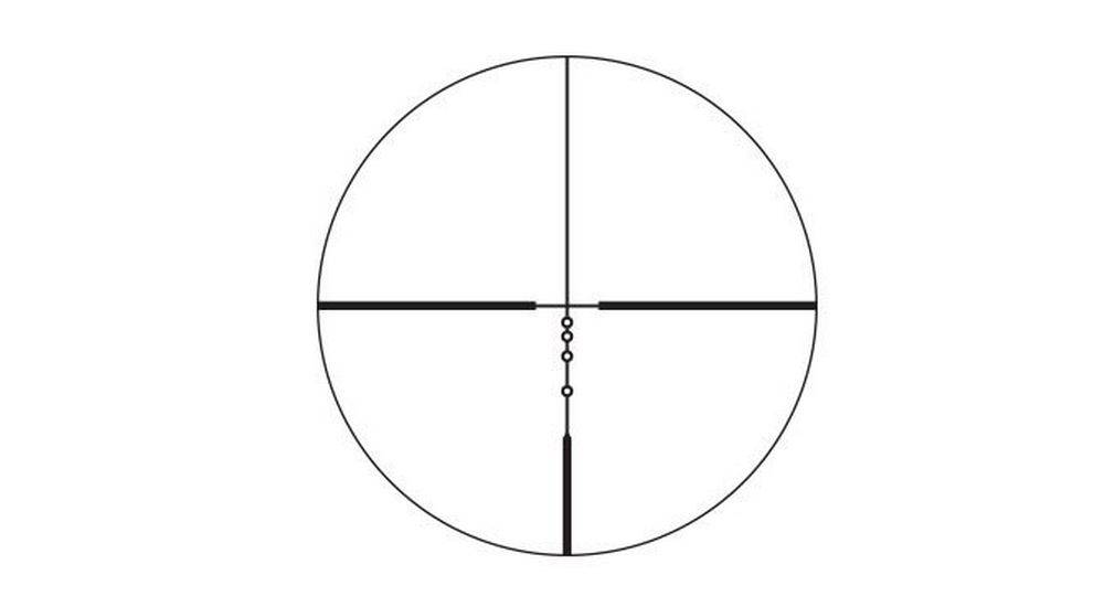 Nikon 16338 Buckmasters II 3-9x40 has a Patented BDC reticle