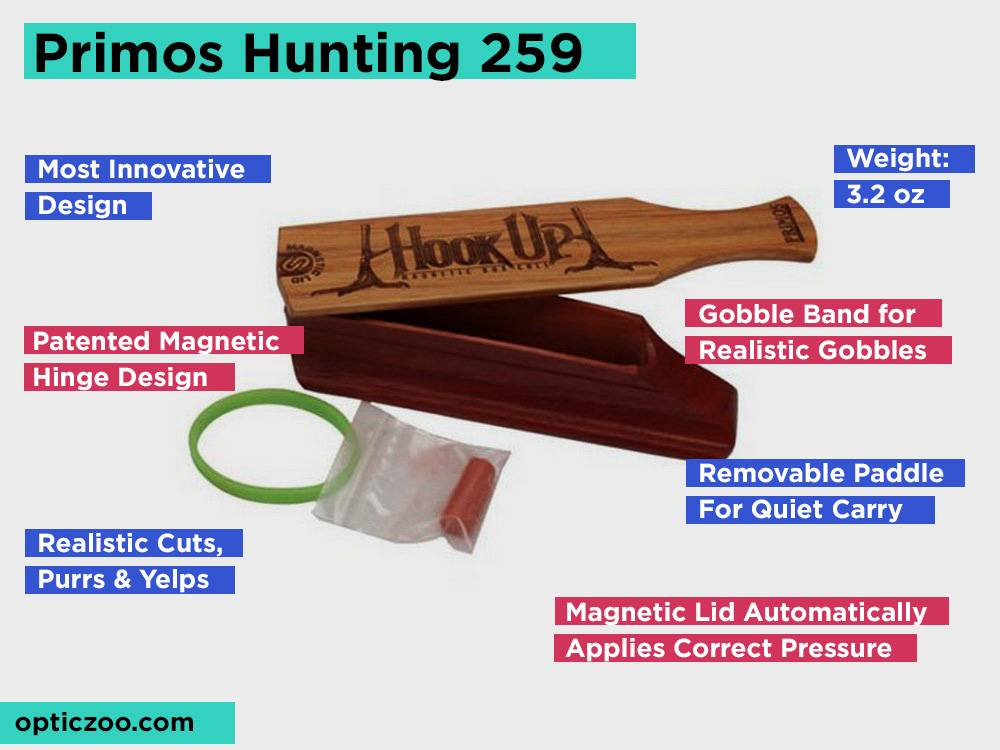 Primos Hunting 259 Review, Pros and Cons