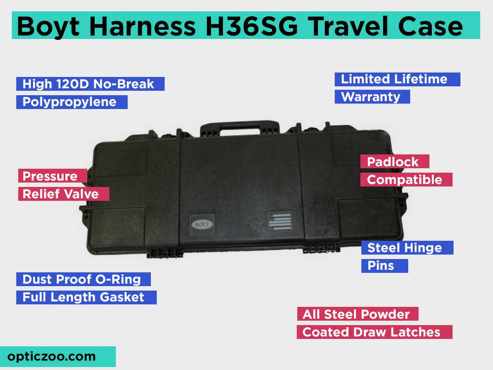 Boyt Harness H36SG Hard Sided Travel Case Review, Pros and Cons