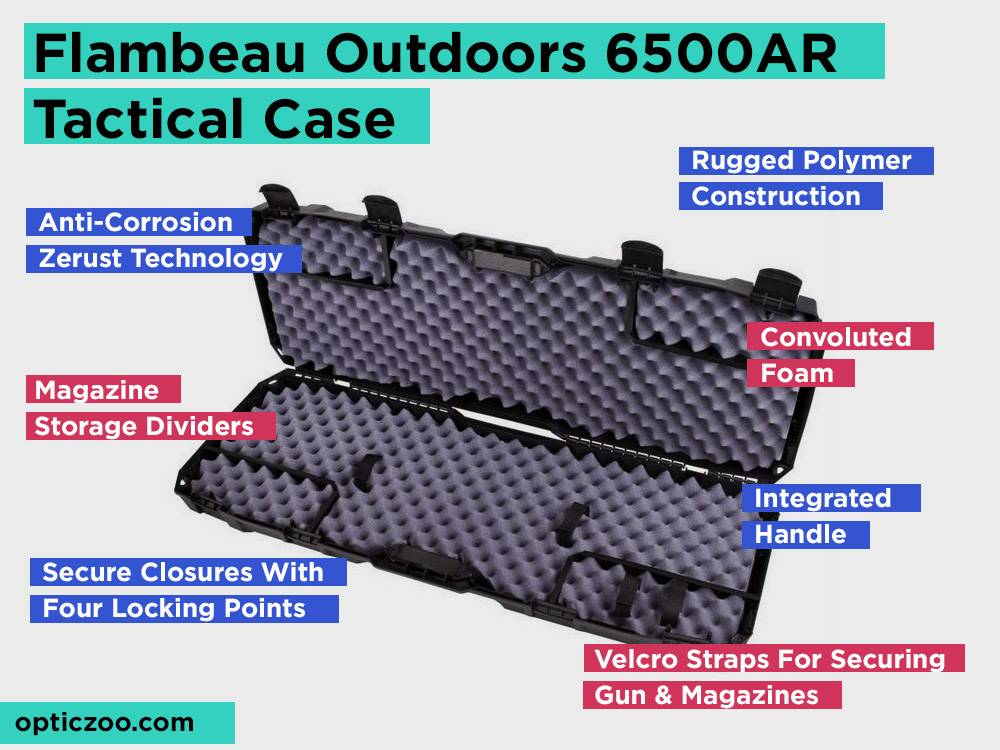 Flambeau Outdoors 6500AR Tactical Case Review, Pros and Cons